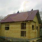 "Баня 6х6, со Связист-2, сентябрь 2009 ""Гусь Деревянный"""
