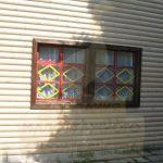 """Дом 6х6, ст Сельский садовод, август 2009 """"Гусь деревянный"""""""