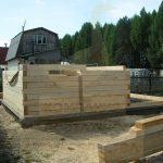 """Дом 6х4, со Пион, июнь 2010 (62) """"Гусь Деревянный"""""""