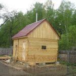 """Баня 4х3,5, со Любитель, май 2010 """"Гусь Деревянный"""""""