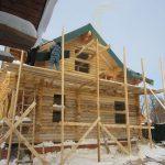 "Дом 8,5х8,3 м, СНТ «Электрон», сентябрь 2012 ""Гусь деревянный"""