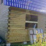 """Дом 6х6, СНТ Связист-2, август 2011 (61) """"Гусь Деревянный"""""""