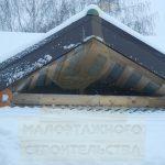 """Дом 8,1х12,8, Н.Ельцовка, декабрь 2012 """"Гусь Деревянный"""""""