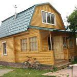 """Дом 8х6, СНТ Ветеран войны, апрель 2011 """"Гусь деревянный"""""""