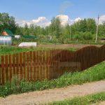 """Забор, СНТ Клен - Кольцово, май 2013 """"Гусь деревянный"""""""