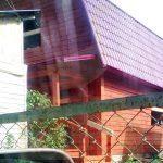 Дом 6х6, Геодезическая, СНТ Лесная Стрелка, июнь 2015