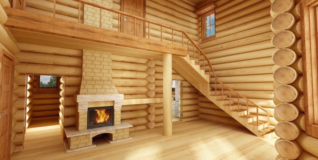 Отделка деревянного дома «под ключ» - «Гусь Деревянный»