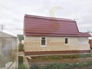 Реконструкция деревянного дома, СНТ «Красная Рябина», апрель 2012