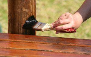 Используемые для защиты древесины средства, компания Гусь Деревянный в Новосибирске
