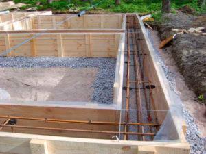 Выбор фундамента для строительства деревянного дома, компания Гусь Деревянный в Новосибирске