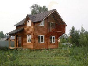 Строительство загородных домов из дерева, компания Гусь Деревянный в Новосибирске
