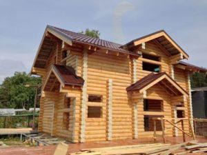 Когда лучше строить деревянный дом из сруба, компания Гусь Деревянный в Новосибирске