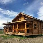 Дом 10*8,5м оцилиндрованное бревно 240мм