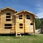 Дом 9,5*8м профилированный брус 200*200мм