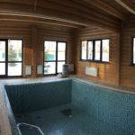 Монтаж бассейна в деревянном доме
