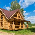 Дом из оцилиндрованного бревна 10*9
