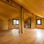 Отделка в жилом деревянном доме