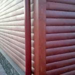 Отделка фасада дома «Гусь Деревянный»