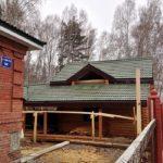 Дом-баня из бревна