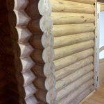 Чистовая отделка дома «Гусь Деревянный»