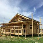Строительство дома из бревна «Гусь Деревянный»