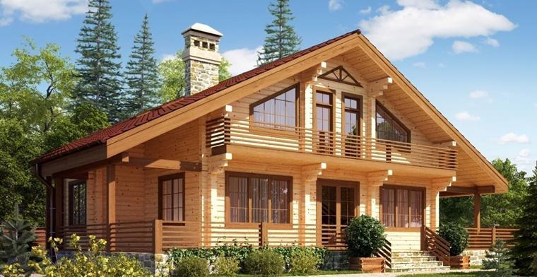 Преимущества профилированного бруса при строительстве дома