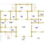 Дом 19,5х14м из профилированного бруса 200х150мм (Код: Д-83)